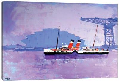 Glasgow Waverly Canvas Art Print