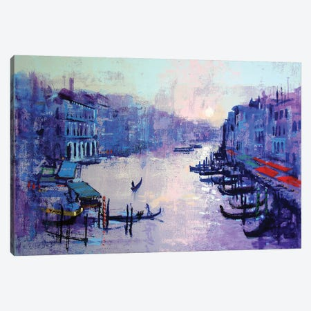 Grand Canal Canvas Print #CRU29} by Colin Ruffell Canvas Art