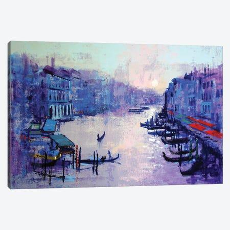 Grand Canal Canvas Print #CRU29} by Colin Ruffell Canvas Art