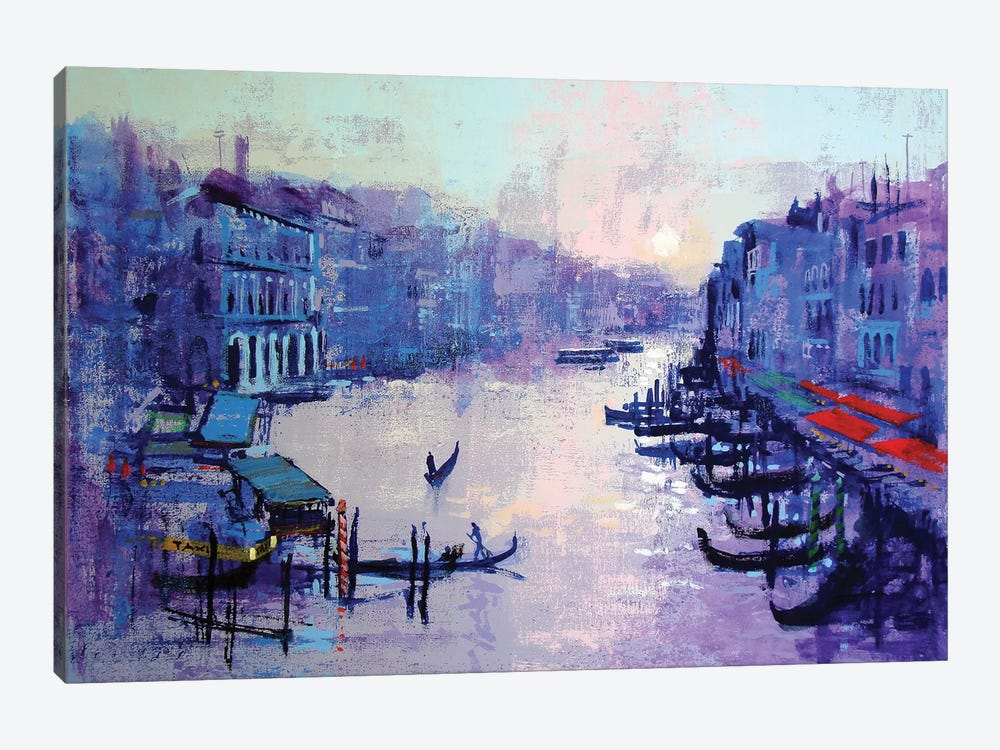 Grand Canal by Colin Ruffell 1-piece Canvas Print