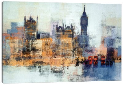Houses Of Parliament Canvas Art Print