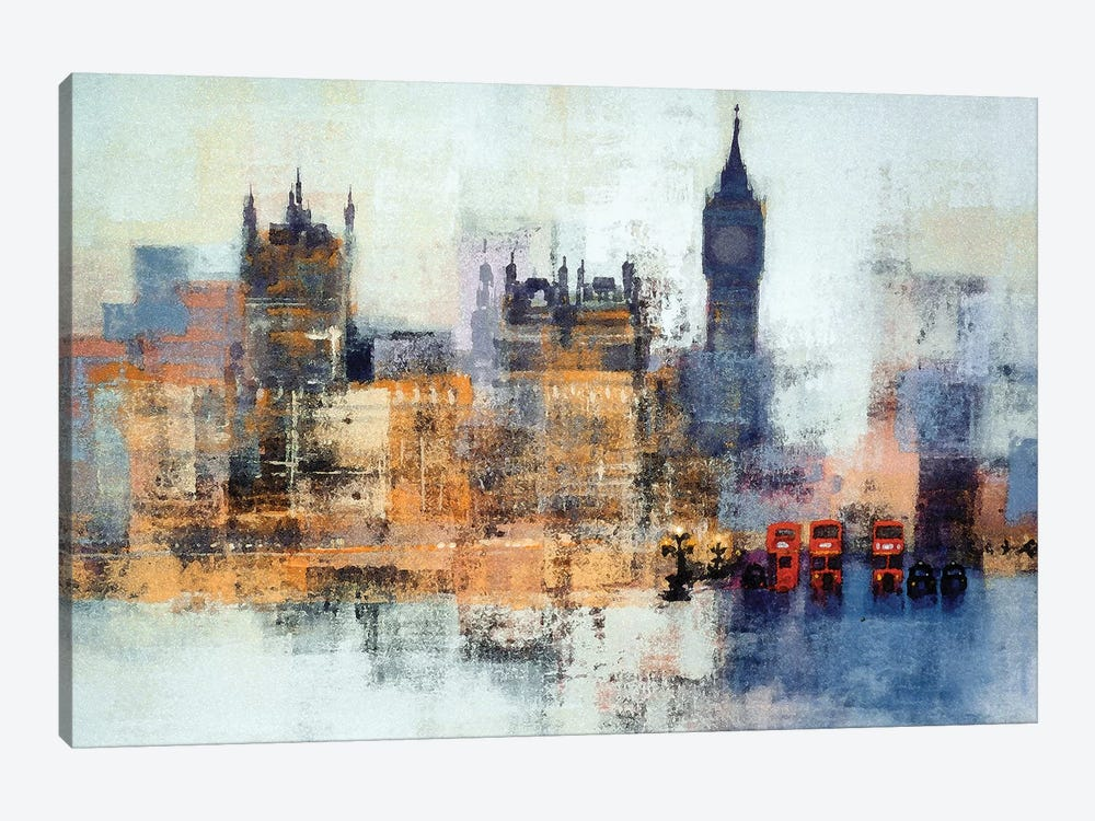 Houses Of Parliament by Colin Ruffell 1-piece Canvas Art