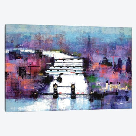 London Canvas Print #CRU38} by Colin Ruffell Art Print