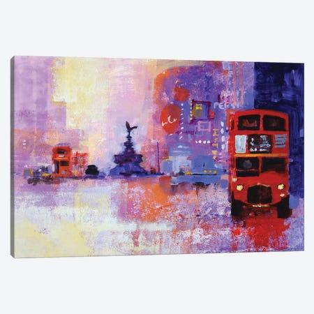London Bus Canvas Print #CRU39} by Colin Ruffell Art Print