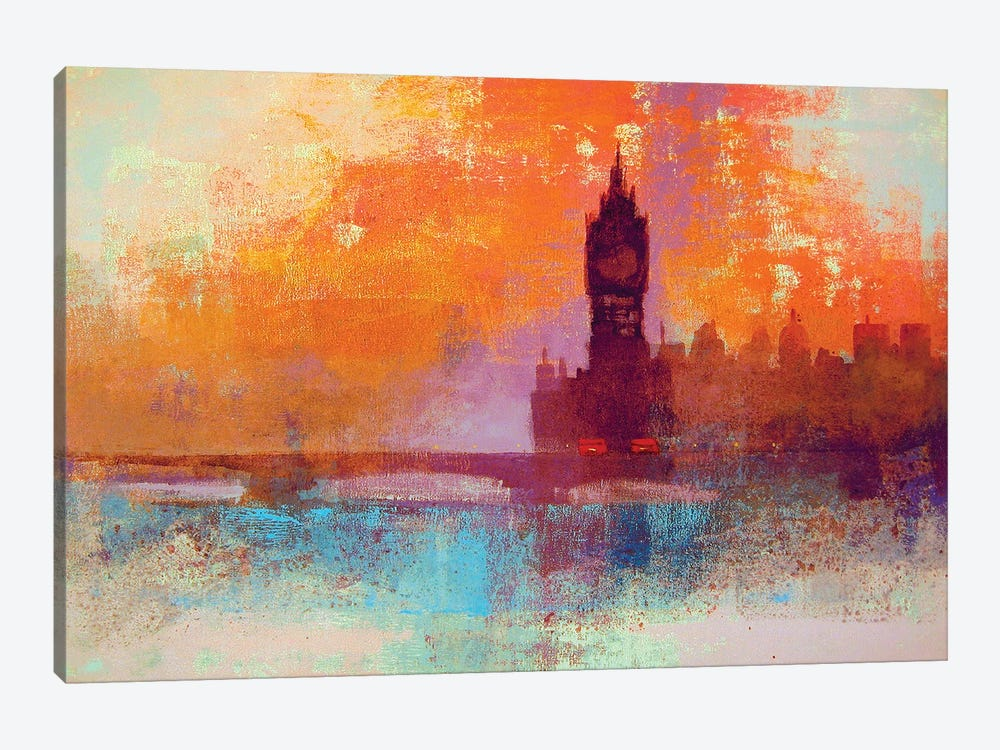 Big Ben Sunset by Colin Ruffell 1-piece Art Print