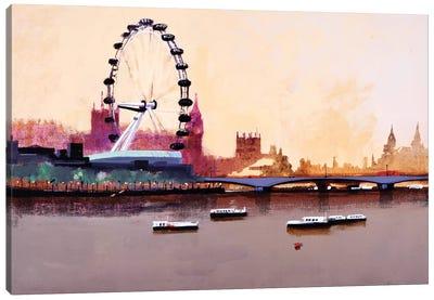 London Eye Canvas Art Print