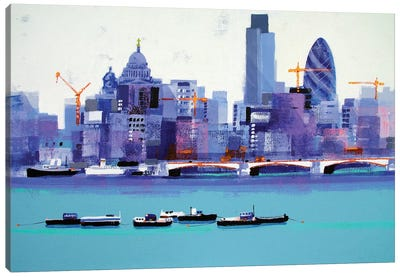 London Skyline Canvas Art Print