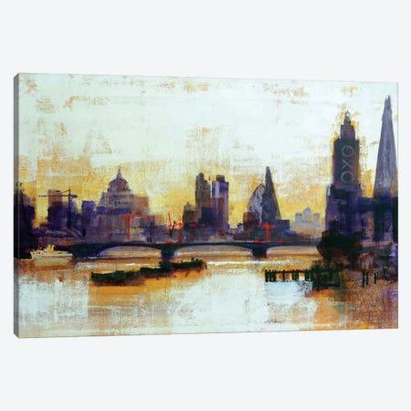 London Sleeps Canvas Print #CRU44} by Colin Ruffell Canvas Print
