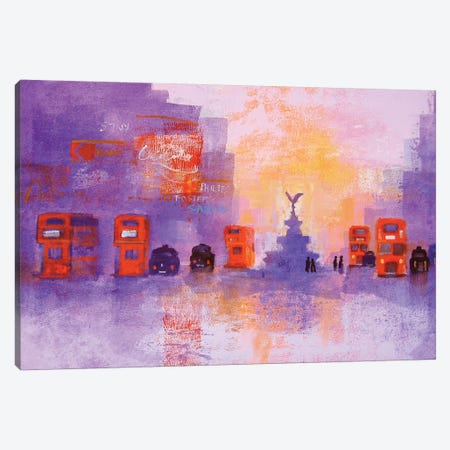 London Summer Evening Canvas Print #CRU45} by Colin Ruffell Canvas Print