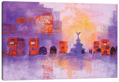 London Summer Evening Canvas Art Print
