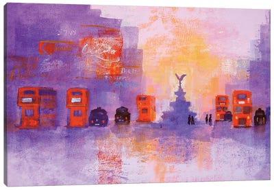 London Summer Evening Canvas Art Print