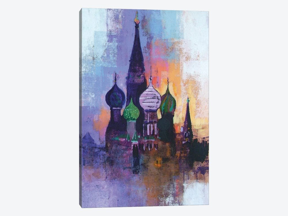 Moscow Red Square by Colin Ruffell 1-piece Canvas Art