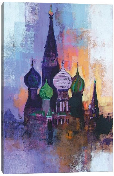 Moscow Red Square Canvas Art Print