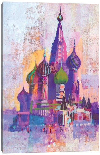 Moscow Saint Basil's Cathedral Canvas Art Print