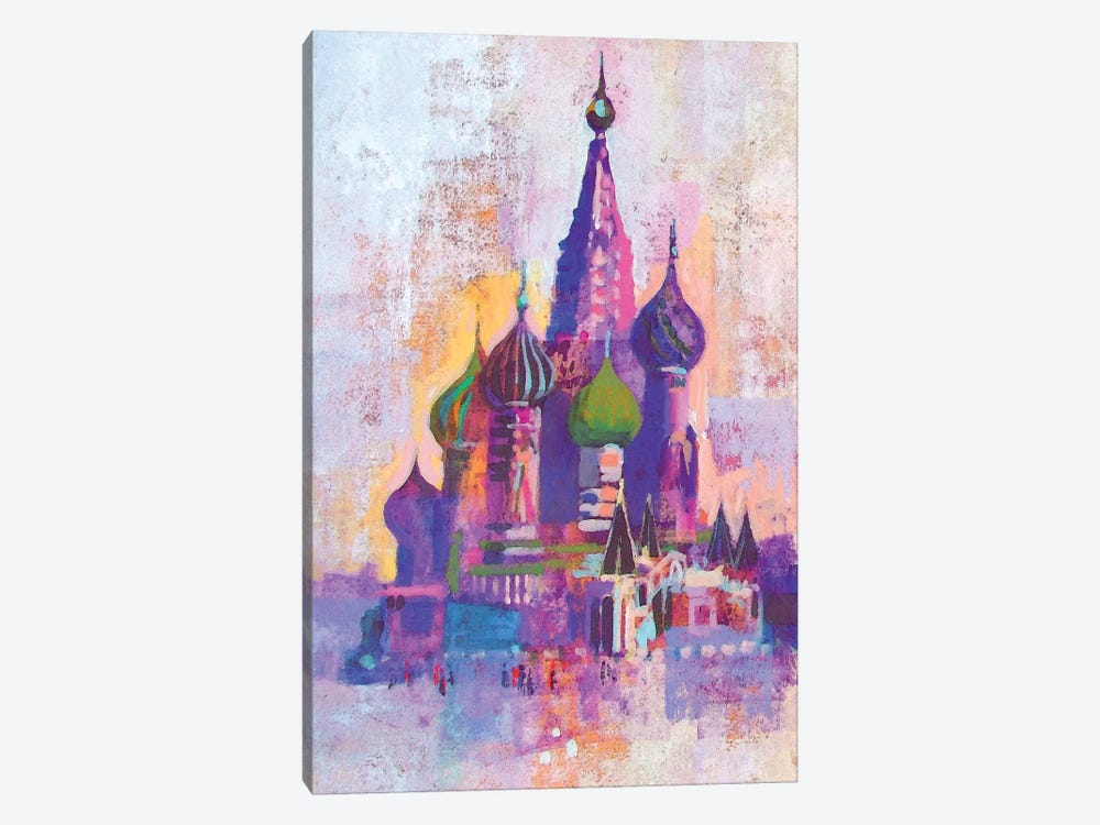 Moscow Saint Basil's Cathedral by Colin Ruffell 1-piece Art Print