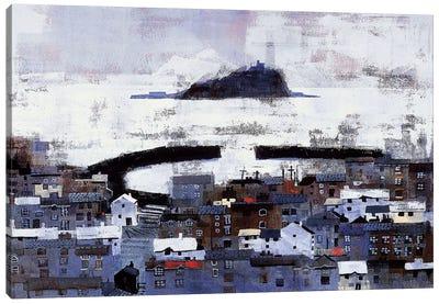 Mount Bay Canvas Art Print