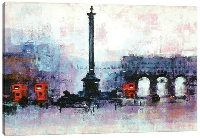 Nelsons Column Canvas Art Print