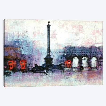 Nelsons Column Canvas Print #CRU54} by Colin Ruffell Canvas Artwork