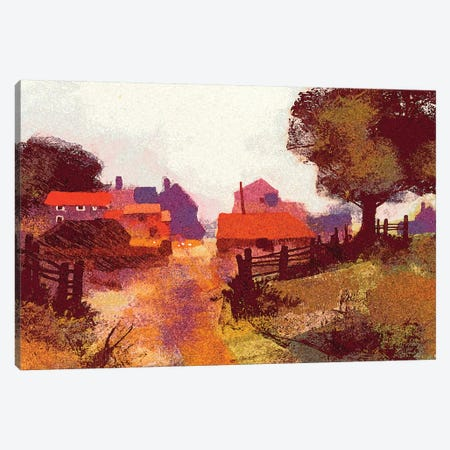 New Farm Canvas Print #CRU55} by Colin Ruffell Canvas Wall Art