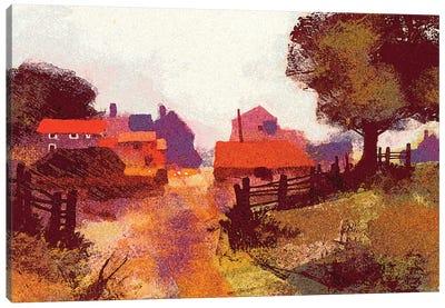 New Farm Canvas Art Print