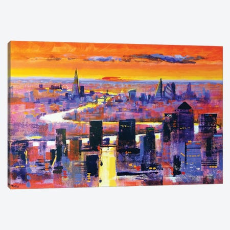 New World London Canvas Print #CRU56} by Colin Ruffell Canvas Wall Art