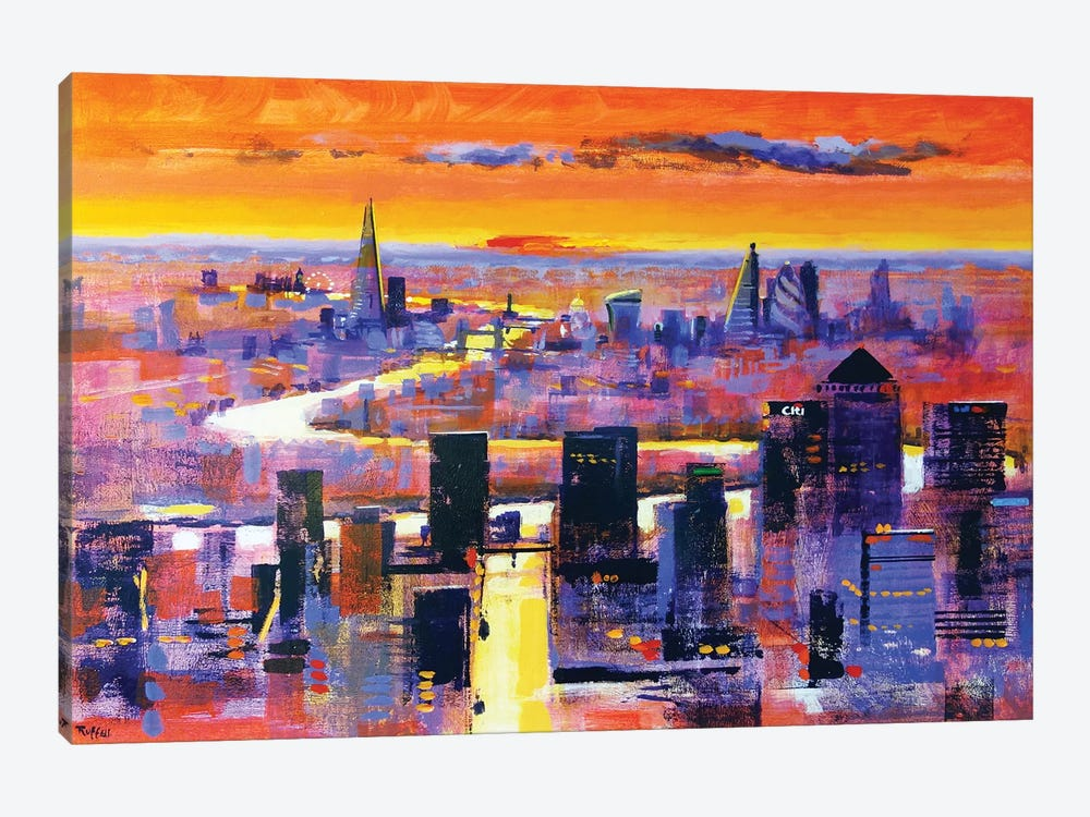 New World London by Colin Ruffell 1-piece Canvas Print