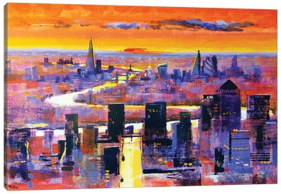 New World London Canvas Art Print