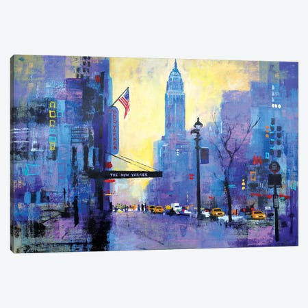 NYC 34th St. Canvas Print #CRU58} by Colin Ruffell Canvas Art Print