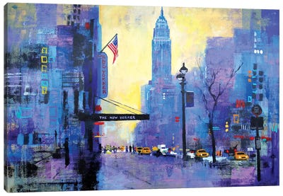 NYC 34th St. Canvas Art Print