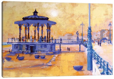Brighton Bandstand Canvas Art Print
