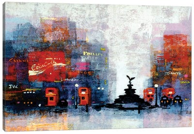 Piccadilly Circus Canvas Art Print