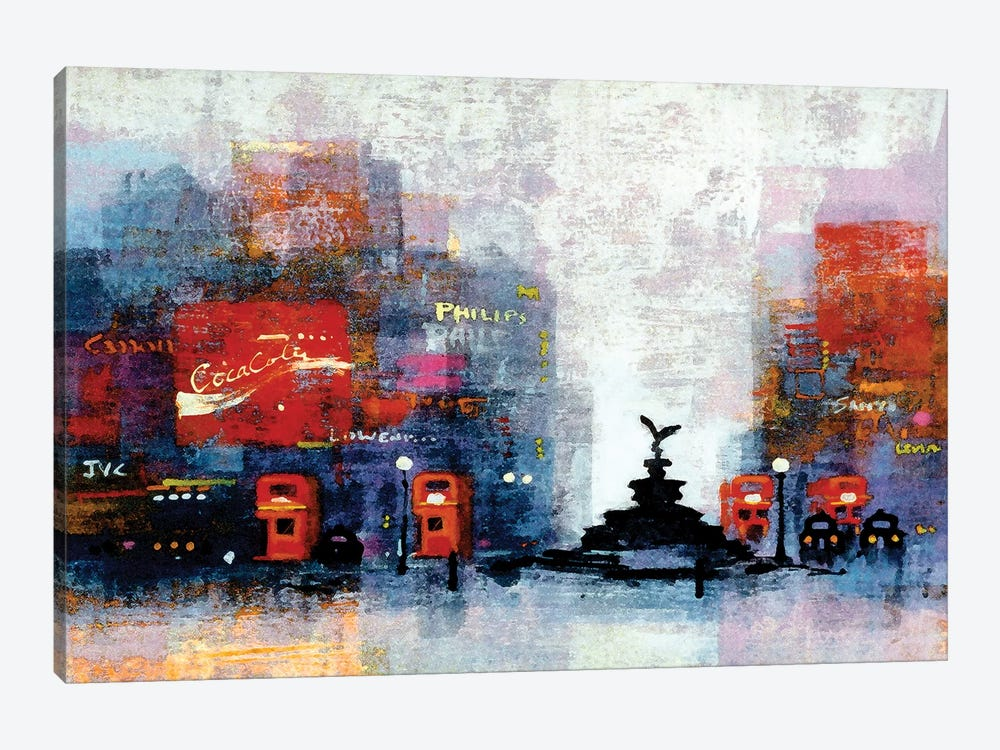 Piccadilly Circus by Colin Ruffell 1-piece Art Print