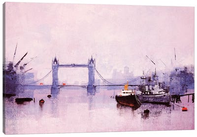 Pool Of London Canvas Art Print