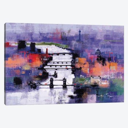 River Thames Canvas Print #CRU66} by Colin Ruffell Canvas Print