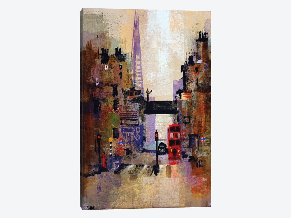 Shard And Bus by Colin Ruffell 1-piece Canvas Print