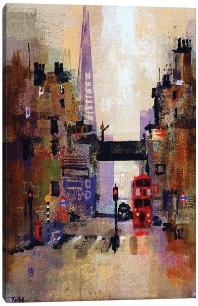 Shard And Bus Canvas Art Print