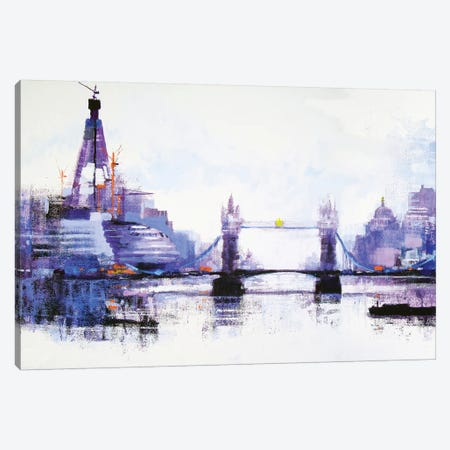 Shard Left Canvas Print #CRU71} by Colin Ruffell Art Print