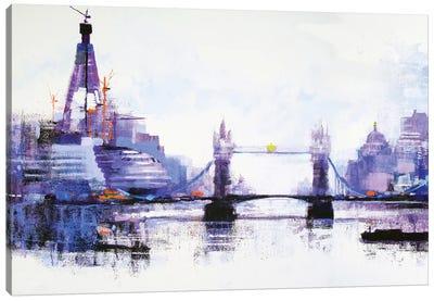 Shard Left Canvas Art Print