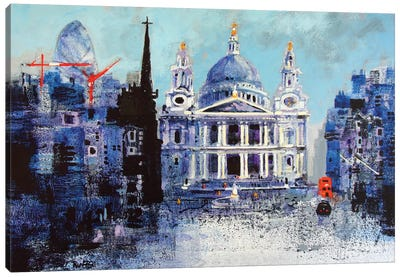 St. Paul's Cathedral II Canvas Art Print