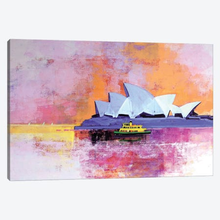 Sydney Opera House Canvas Print #CRU76} by Colin Ruffell Canvas Art