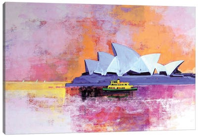 Sydney Opera House Canvas Art Print