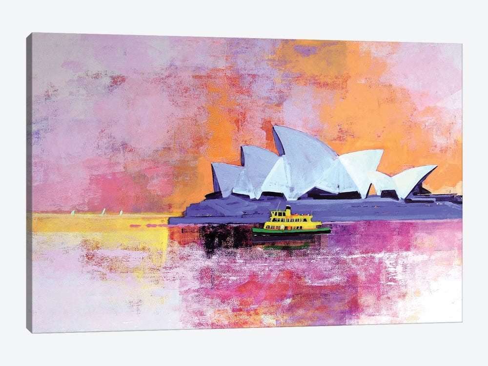 Sydney Opera House by Colin Ruffell 1-piece Canvas Art Print