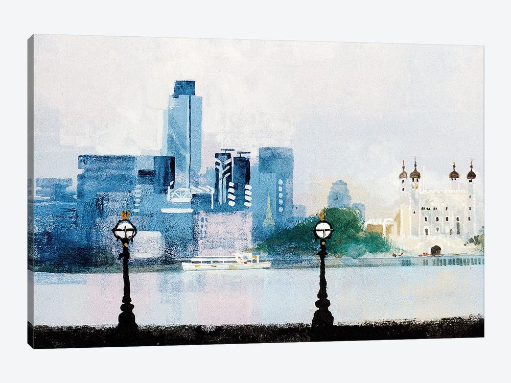 The City by Colin Ruffell 1-piece Canvas Artwork