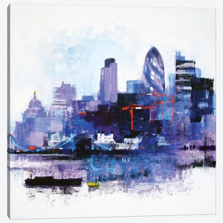The White Tower Canvas Print #CRU81} by Colin Ruffell Canvas Wall Art