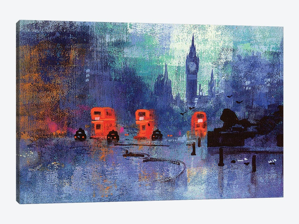 Trafalgar Square by Colin Ruffell 1-piece Art Print