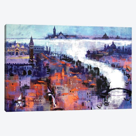 Venice Canvas Print #CRU87} by Colin Ruffell Canvas Print