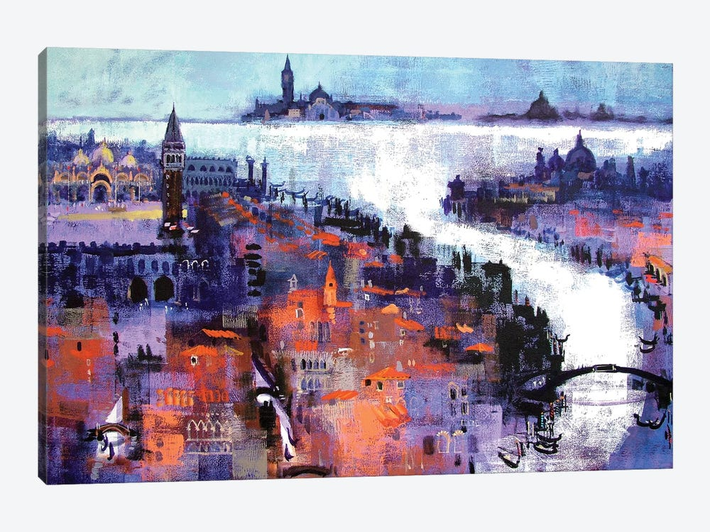 Venice by Colin Ruffell 1-piece Canvas Print