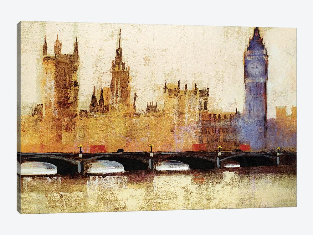 Westminster Bridge by Colin Ruffell 1-piece Art Print