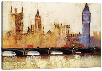 Westminster Bridge Canvas Art Print