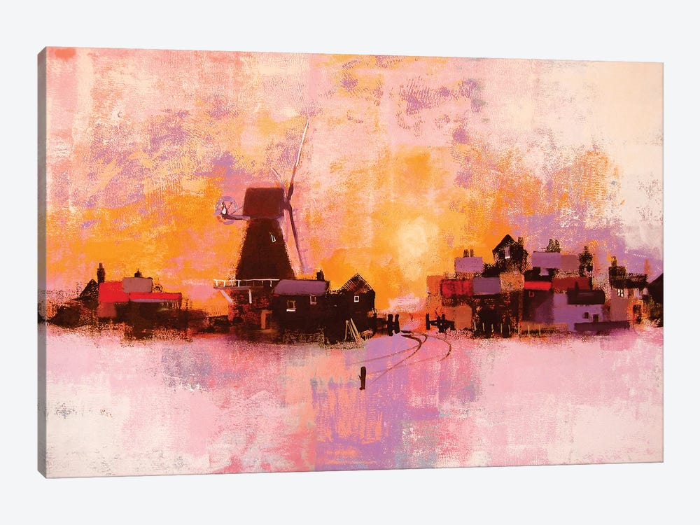 Windmill by Colin Ruffell 1-piece Canvas Art